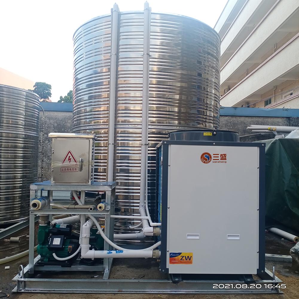 用空气能热水器需要安装缓冲水箱吗?
